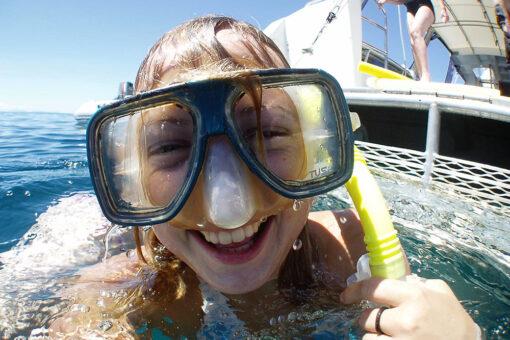 Snorkelling fun